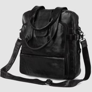 Genuine Leather Backpack / Travel B..