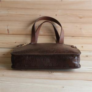 Genuine Leather bag in Brown / men ..
