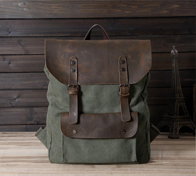 3f61ebbacf New backpack in Green   Briefcase   Backpack   Messenger   Laptop   Men s  Bag