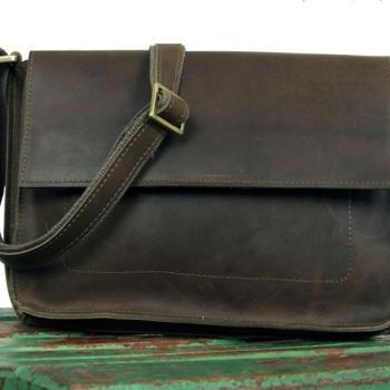 1c68ff891a ... Retro Leather bag - Briefcase - Messenger Bag - Leather Laptop - crossbody  bag - school New backpack in ...
